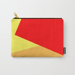 Orange Ombre Shapes Carry-All Pouch