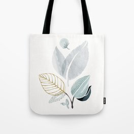 Sage and Such - Abstract Watercolor Botanical Tote Bag
