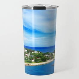 Blue Island Criuse Travel Mug