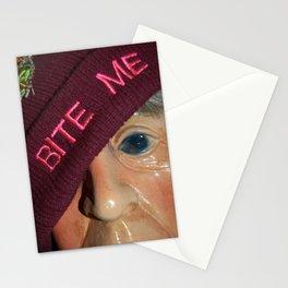 Bite Me Stationery Cards