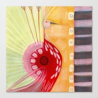 deco Canvas Prints featuring Deco by angela deal meanix