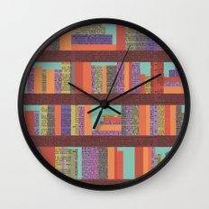 Books II Wall Clock