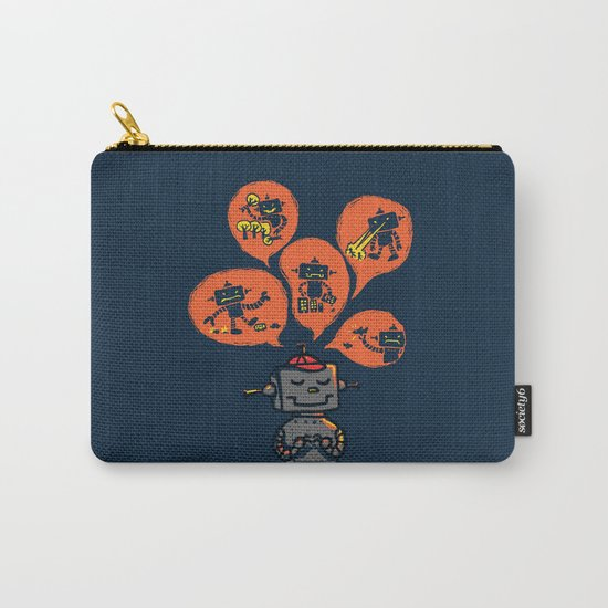 When I grow up - an evil robot dream Carry-All Pouch