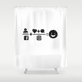 Equations Shower Curtain