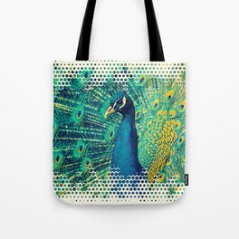 Peacock Style Tote Bag