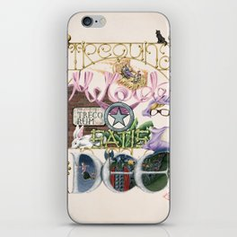 The SILVER SCREEN SPELLS - take 1 of 3 iPhone Skin