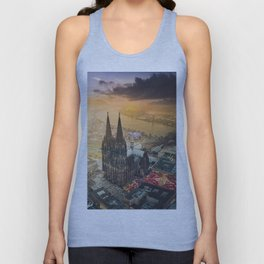 Cologne Cathedral Unisex Tank Top
