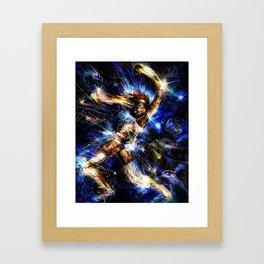 Short Circuit Framed Art Print