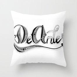 De Antes / Before Throw Pillow