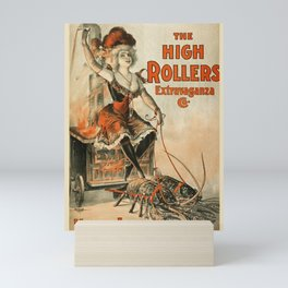 The High Rollers Extravaganza poster Mini Art Print