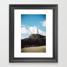Twr Mawr Lighthouse Framed Art Print