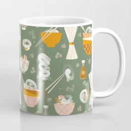 Noodle bowl dishes Coffee Mug