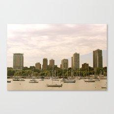 McKinley Marina - Milwaukee Canvas Print
