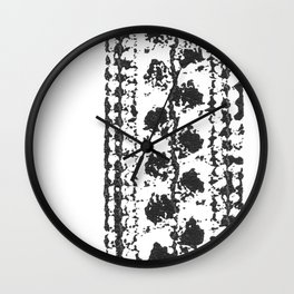 Crochet Impressions: LEAVES Wall Clock