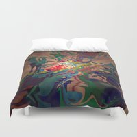 chaos Duvet Covers featuring Chaos by lillianhibiscus