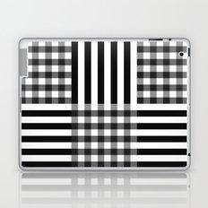 monochrome pattern  Laptop & iPad Skin
