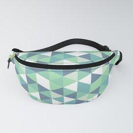 Simple but beautiful geometric triangle pattern Fanny Pack