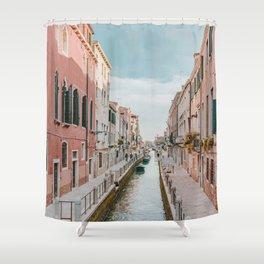 venice iii / italy Shower Curtain