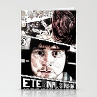 eternal sunshine Stationery Cards featuring Eternal Sunshine of the Spotless Mind by Aaron Bir by Aaron Bir