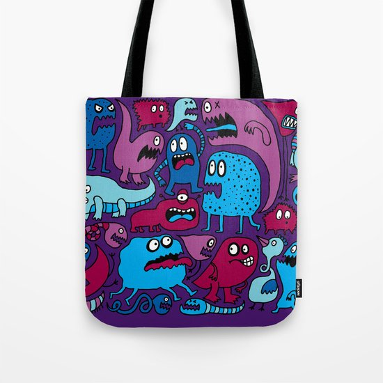 More Monsters Tote Bag