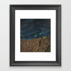 fathoms deep Framed Art Print