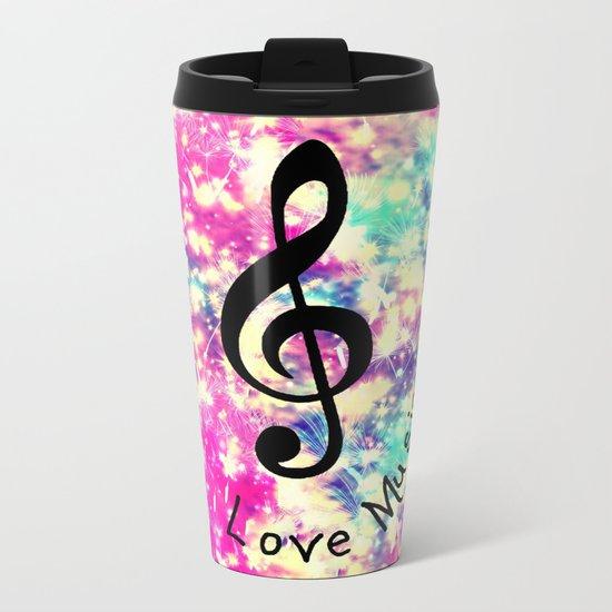 Music-294 Metal Travel Mug