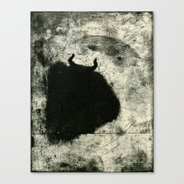 Minotaur in Hiding Canvas Print