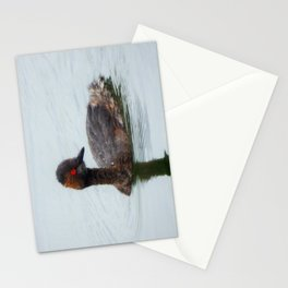 Eared Grebe Stationery Cards