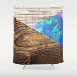 NATURES TEXTURES Shower Curtain