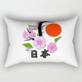 Tsuru Bird - The Legendary Japanese Bird (Accessories Lifestyle & T- Shirts) Rectangular Pillow