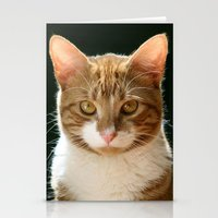 charlie Stationery Cards featuring Charlie by B Hoagland