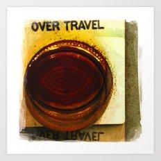 over travel 1 Art Print