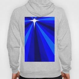 Blue Christmas Star Hoody