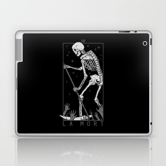 La Mort Laptop & iPad Skin