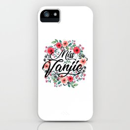MissVanjie iPhone Case