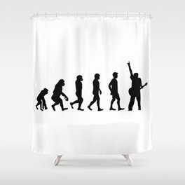 Rocker Revolution Shower Curtain