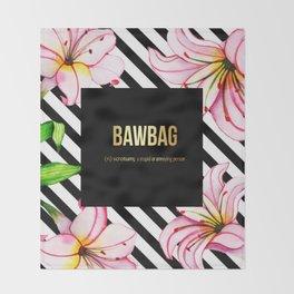 Bawbag Throw Blanket