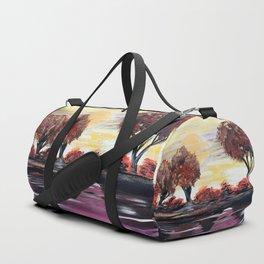 Autumn Sundown Duffle Bag