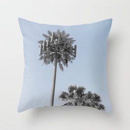 California Connection Tower #17 Throw Pillow