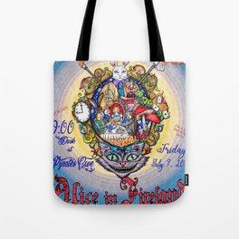 Alice in Fireland Tote Bag