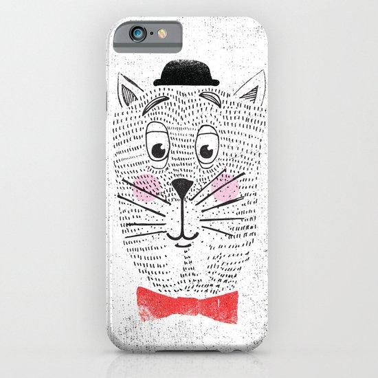 CAT IN A BOWTIE iPhone & iPod Case