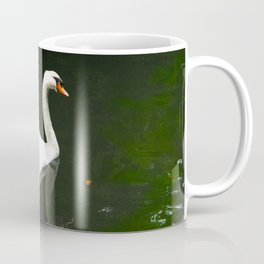 The Swan by Lika Ramati Coffee Mug