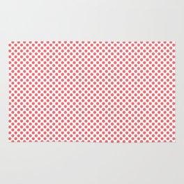 Sugar Coral Polka Dots Rug