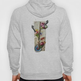 Genetically modified   Collage Hoody