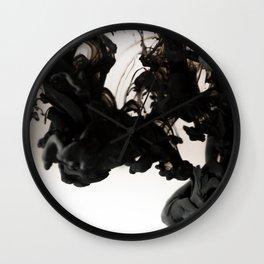 Ink Drop Wall Clock