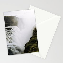Gullfoss waterfall in Iceland - Landscape Photography Stationery Cards
