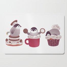 Cookie & cream & penguin Cutting Board