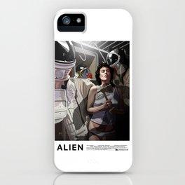 ALIEN Narcissus iPhone Case
