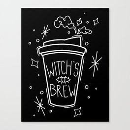 Witch's Brew Coffee Canvas Print