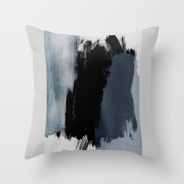 Abstract Brush Strokes 15 Throw Pillow